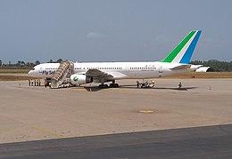 Fly Salone aircraft at Lungi airport cropped.jpg