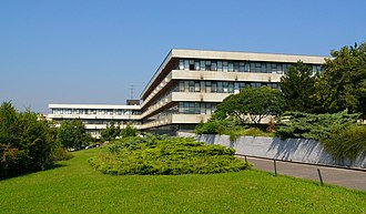 Comenius University Faculty of Mathematics, Physics and Informatics - Building of the Faculty of Mathematics, Physics and Informatics