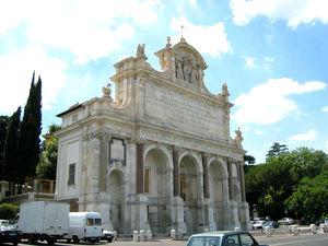 Fontana dell'Acqua Paola -  Fontana dell'Acqua Paola, or Il Fontanone