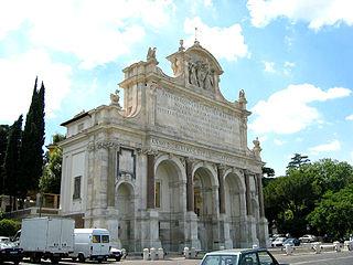 Fontana dellAcqua Paola