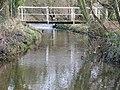 Footbridge, North Poulner - geograph.org.uk - 1134641.jpg