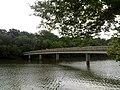Footbridge to Theodore Roosevelt Island (3685299164).jpg