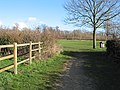 Footpath to Lassington Wood Nature Reserve - geograph.org.uk - 667076.jpg
