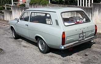Ford Escort (Europe) - Just over two months after the launch of the saloon/sedan, Ford announced a three-door station wagon / estate version of their new Escort.