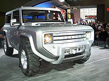 Bronco Concept At The 2004 New York Auto Show