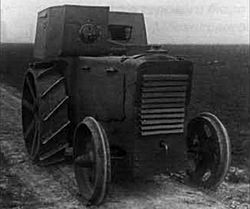 Fordson armored tractor front.jpg