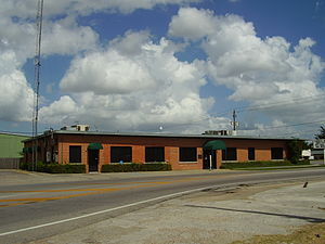 Jacinto City, Texas - Jacinto City City Hall Annex, the former Jacinto City City Hall, serves as a meeting place for City Council.