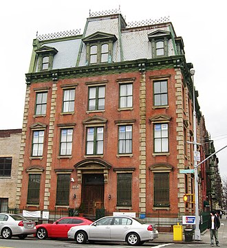 Washington Heights, Manhattan - Former 30th Precinct House on 152nd Street, a NYC Landmark