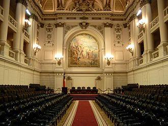 Former National Congress Building - Former Congress Chamber