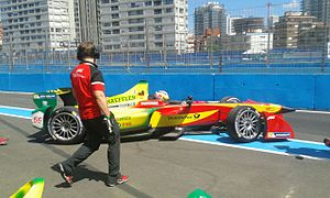 Daniel Abt - Abt driving in the 2014 Punta del Este ePrix