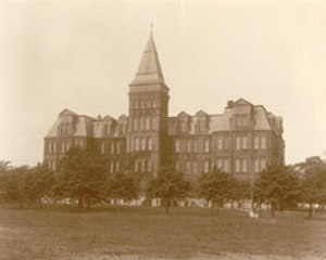 Angus Lewis Macdonald - The Forrest Building housed the Dalhousie Law School where Macdonald studied and later taught.