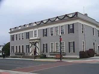 Fort Bragg, California - Fort Bragg City Hall