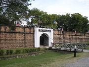 Fort Cornwallis in George Town, British outpost