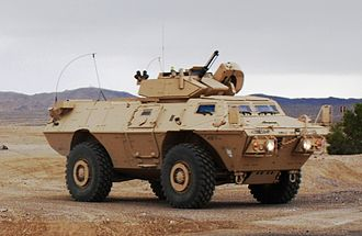 M1117 Armored Security Vehicle - M1117 at Fort Irwin National Training Center