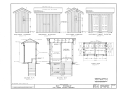 Fort Laramie, Pit Toilet, Fort Laramie, Goshen County, WY HABS WYO,8-FOLA,3A- (sheet 1 of 2).png