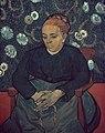 Foto van een schilderij van Vincent van Gogh, Bestanddeelnr 255-9145.jpg
