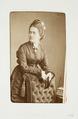 Fotografiporträtt på friherrinna Helene von der Lühe - Hallwylska museet - 107734.tif