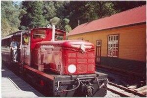 Walhalla Goldfields Railway - Image: Fowler