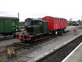 John Fowler & Co. - Fowler shunter, Buckinghamshire Railway Centre