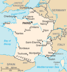 List Of Communes In France With Over Inhabitants Wikipedia - Major cities in france