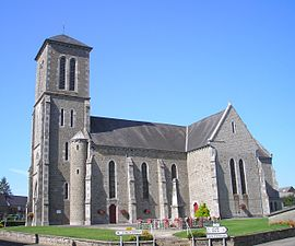 The church of Saint-Jean-Baptiste