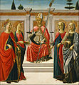 Francesco Botticini - St. Nicolas and Sts. Catherine, Lucy, Margaret and Apollonia - Google Art Project.jpg