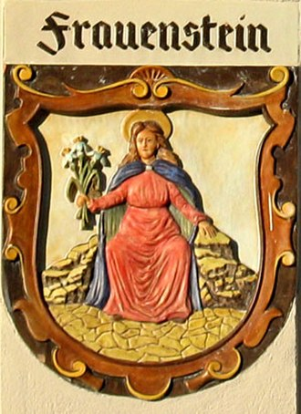 Frauenstein, Saxony - Image: Frauenstein Wappen Erzgebirge