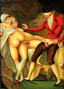 French erotic painting Warsaw.JPG