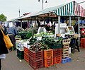 Freshly dug local vegetables in Wolverhampton Market - geograph.org.uk - 1522743.jpg