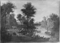 Fruit Market near a River (Mathys Schoevaerdts) - Nationalmuseum - 17629.tif