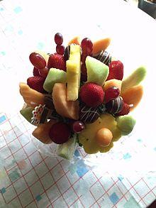Fruit bouquet[edit]