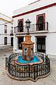Fuente, Plaza Virgen del Rocío, Almonte, Huelva, España, 2015-12-07, DD 03.JPG