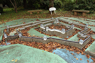 Fukui Domain - Scale model of Fukui Castle