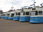Göteborg trams in a row 2.JPG