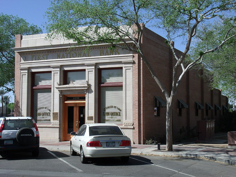G-First National Bank of Glendale 1906