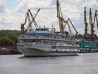 G.V. Plekhanov on Khimki Reservoir 23-jul-2012 02.JPG