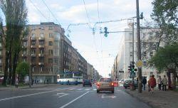 Ulica �wi�toja�ska na Wzg�rzu �wi�tego Maksymiliana
