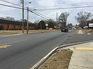Georgia State Route 61 - State Route 61 in Cartersville