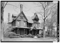 GENERAL VIEW, FROM SOUTHWEST - John L. Wisdom House, 535 East Main Street, Jackson, Madison County, TN HABS TENN,57-JACSO,2-1.tif