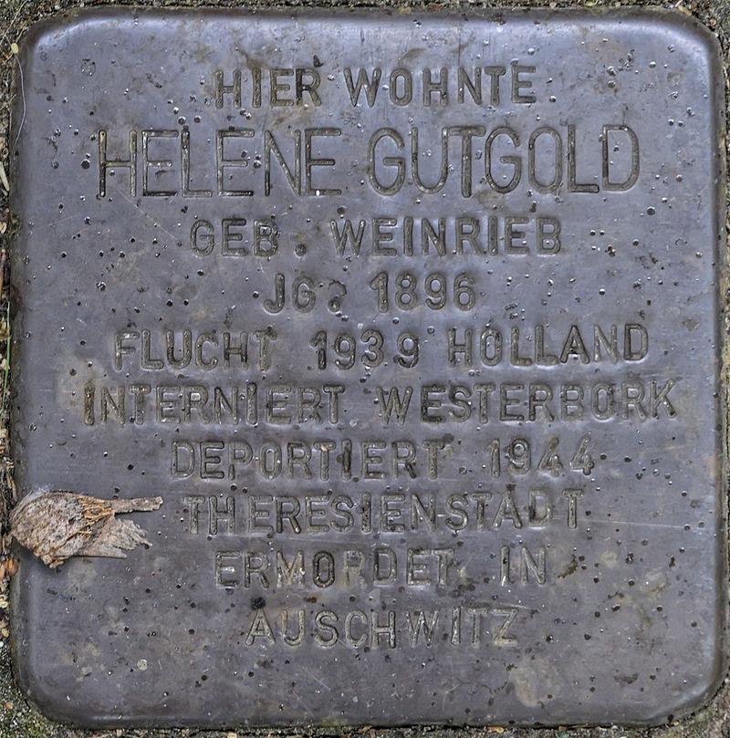GE Stolperstein Eckenerstr. 14 - Helene Gutgold.jpg