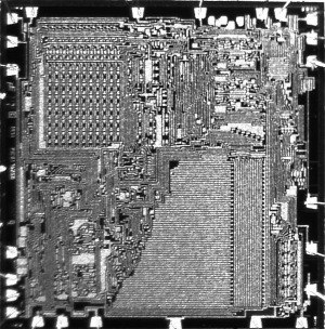 Microprocessor - The PICO1/GI250 chip introduced in 1971. This was designed by Pico Electronics (Glenrothes, Scotland) and manufactured by General Instrument of Hicksville NY.