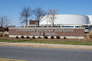 Governor Thomas Johnson High School Public high school in Frederick, Maryland, United States