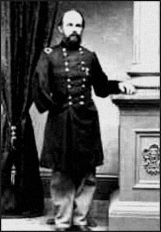 George J. Stannard - Stannard as a brigadier general in the Union Army; note the empty right sleeve.