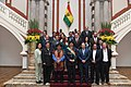 Gabinete Ministros Gobierno Evo Morales 2017 2018.jpg