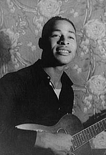 Gabriel Brown American Piedmont blues singer and guitarist