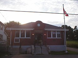 The Gagetown village post office