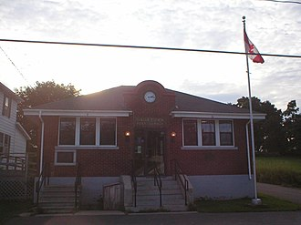 Gagetown, New Brunswick - The Gagetown village post office