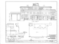 Gaineswood, 805 South Cedar Street, Demopolis, Marengo County, AL HABS ALA,46-DEMO,1- (sheet 7 of 25).png
