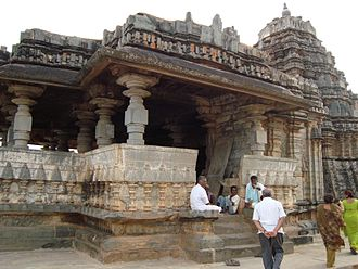 Haveri district - Galageshwara Temple at Galaganatha, Karnataka