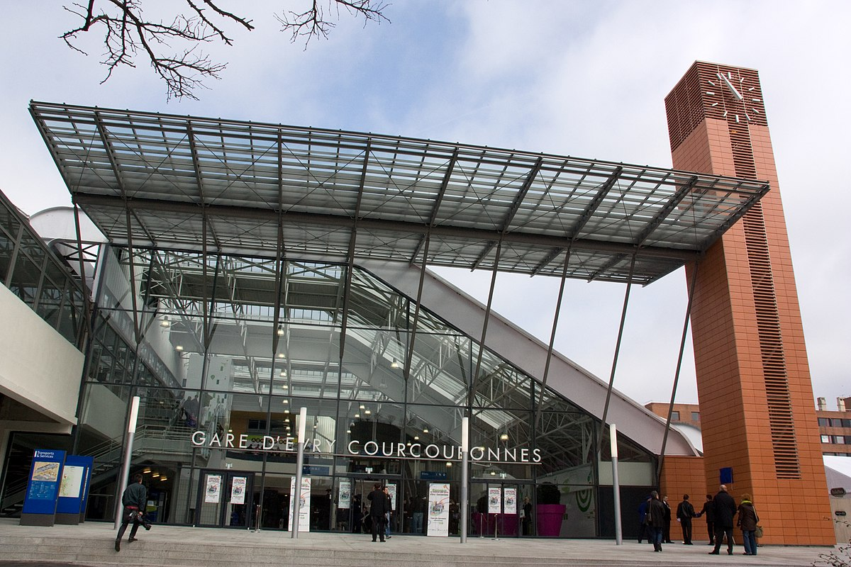 gare d 39 vry courcouronnes wikip dia